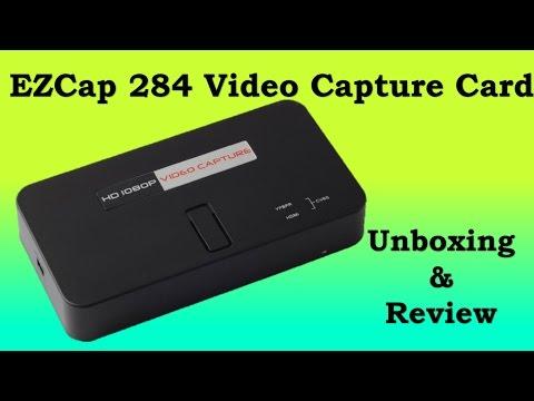 EZcap 284 HD Video Capture Card - Unboxing & Review