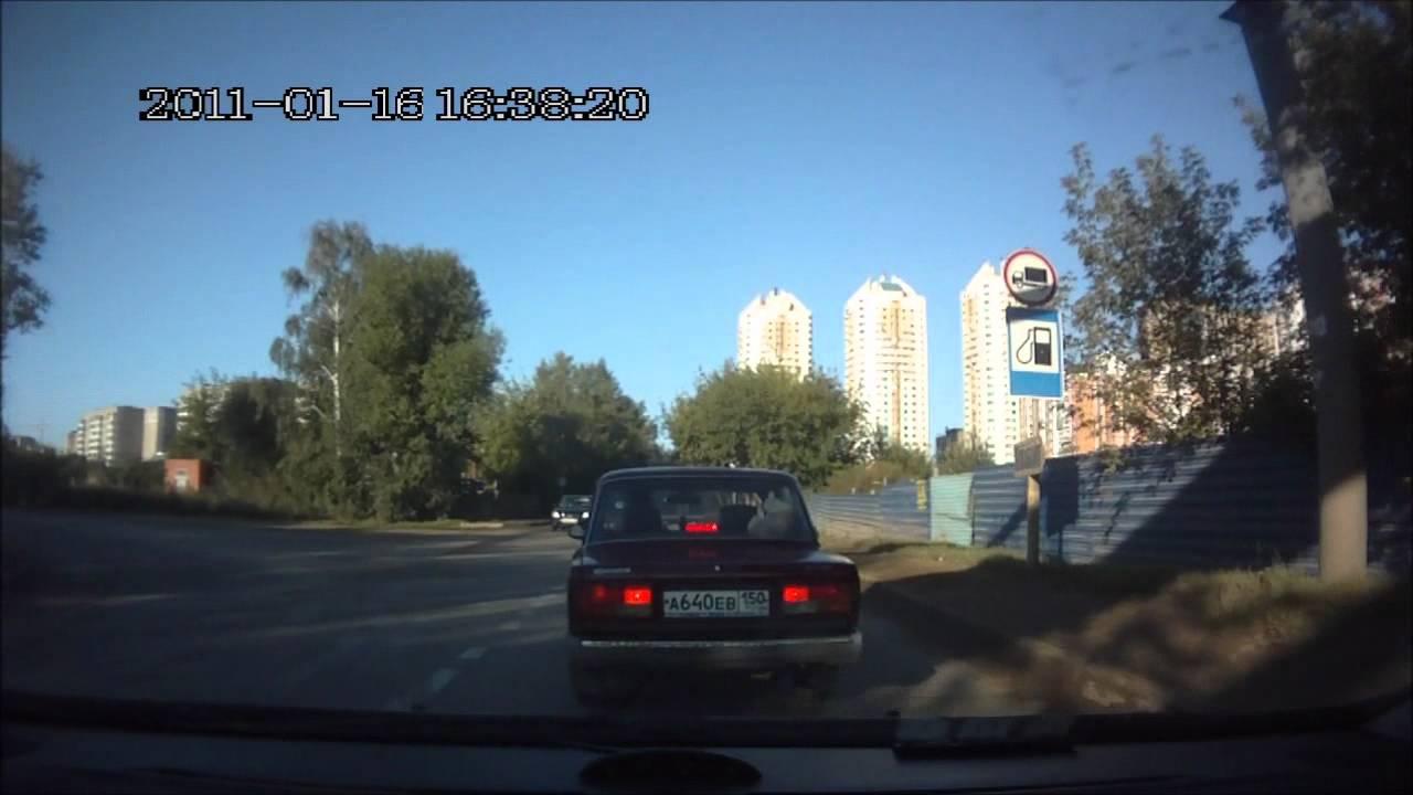 Гнида на дороге 2012 (О187ТУ190).wmv