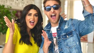 Salma Rachid & mok Saib 2M Ma gazelle سلمى رشيد و موك صايب في حفل رأس السنة