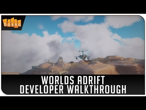 Let's Play Worlds Adrift - Developer Walkthrough