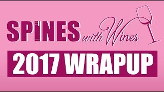 Spines with Wines: 2017 Wrap Up