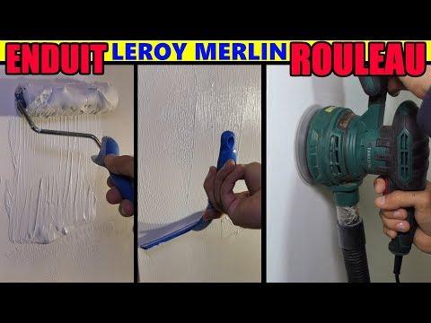 Enduit De Lissage Au Rouleau Leroy Merlin Axton Type Magic