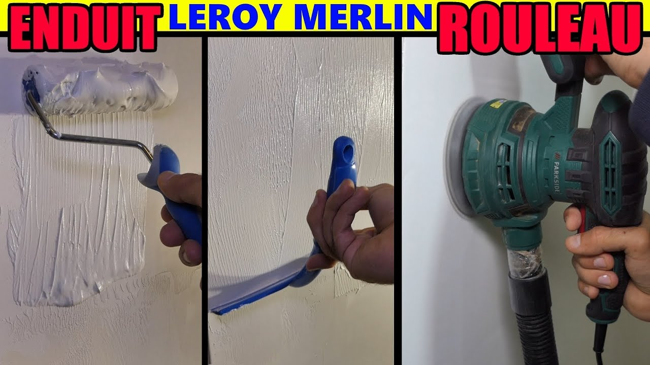 Enduit De Lissage Au Rouleau Leroy Merlin Axton Type Magic Liss Renov Toupret Semin Youtube