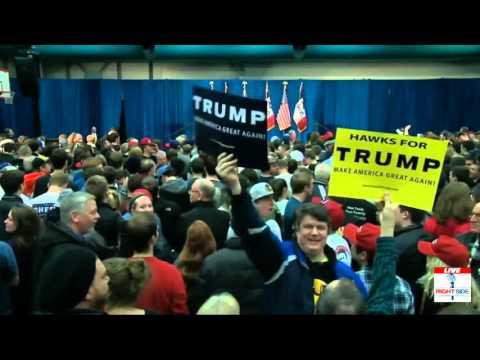 FULL Speech: Donald Trump AMAZING Rally Iowa City, IA at the University of Iowa (1 26 16)