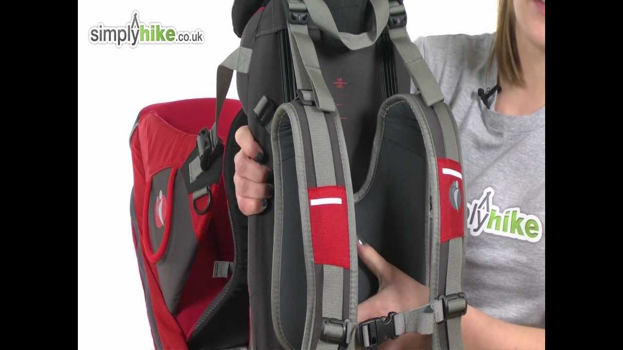 5c987687ecc LittleLife Voyager S2 Child Carrier - www.simplyhike.co.uk - YouTube