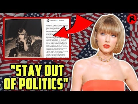 Taylor Swift Finally Gets Political Mp3