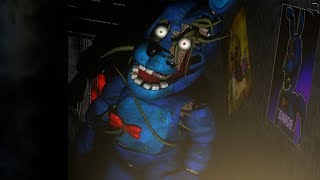DO NOT LET THIS ANIMATRONIC BURST THROUGH THE DOOR... || Five Nights at Freddy's Evolution 2 (Demo)