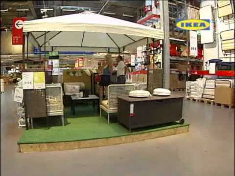 Έπιπλα εξωτερικού χώρου IKEA (ALPHA TV)