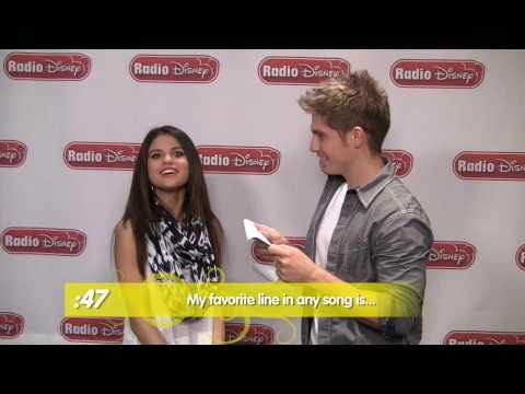 Selena Gomez - Selena's 60 Second Challenge - Radio Disney's Celebrity Take with Jake