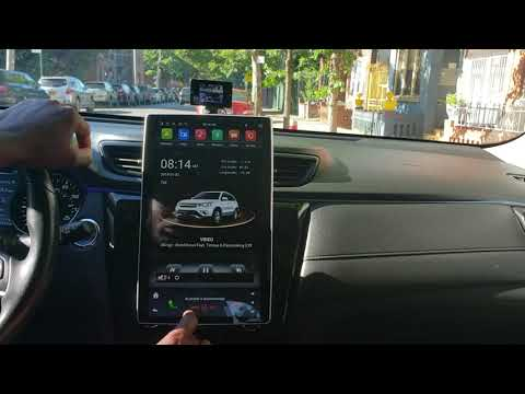 KLYDE Android 8.1 Car Stereo Tesla Style 1920*1080 12.8