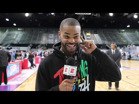 King Bach goes behind the scenes at the NBA All-Star Celebrity Game | SportsCenter | ESPN