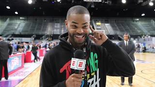 King Bach goes behind the scenes at the NBA All-Star Celebrity Game | SportsCenter | ESPN thumbnail