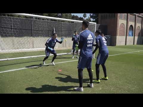 #SelecciónMayor ¡Último entrenamiento antes de partir hacia San Antonio!