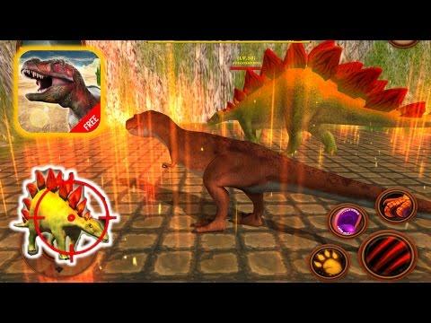 Tyrannosaurus T-Rex Simulator: Dinosaurs Survival - Kill Stegosaurus IOS Gameplay