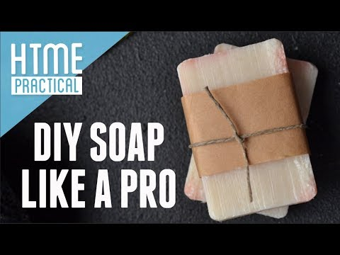 DIY Soap Like A Pro!  Get 32 Bars From One Batch | HTME: Practical