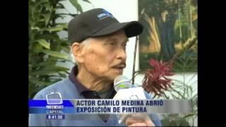 En la localidad de Suba se presentan las obras del Actor y Pintor Camilo Medina
