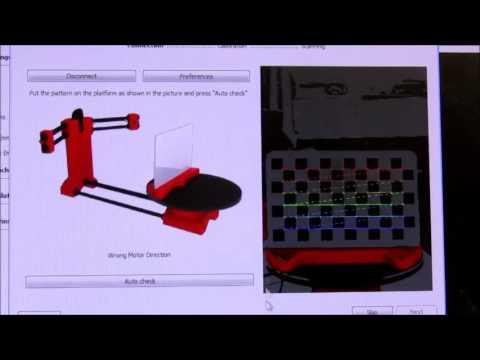 Cyclops 3D scanner with Horus software