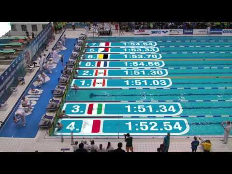 International Swim Meeting 2015 (Berlin) - WK 20 200m Freistil Männer