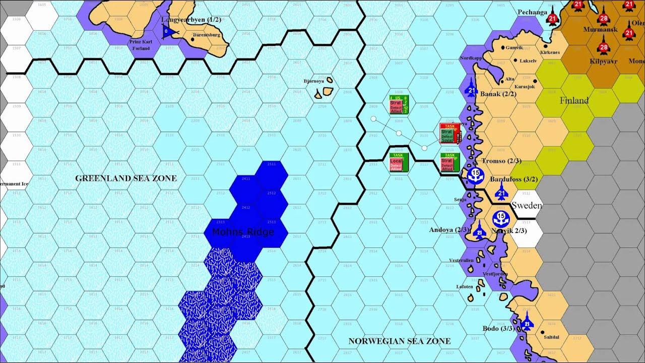 2nd Fleet Scenario 1 Standing Naval Force Atlantic Youtube