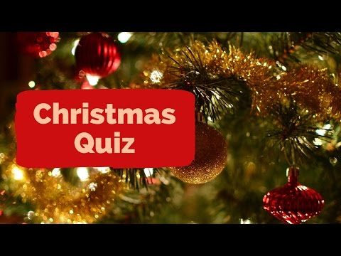 🎄 Christmas Quiz 2016 : Christmas Trivia Quizz 🎄