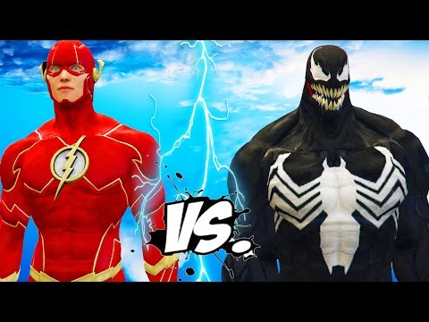 Thumbnail: THE FLASH VS VENOM - EPIC BATTLE