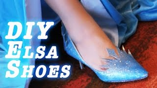How to Make: Elsa's (FROZEN) shoes