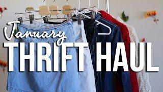 January Thrift Haul | The Fashion Citizen