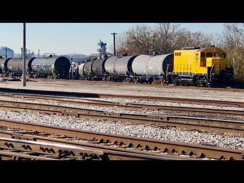 Huge Freight Trains At Proctor And Gamble, Cincinnati Ohio!