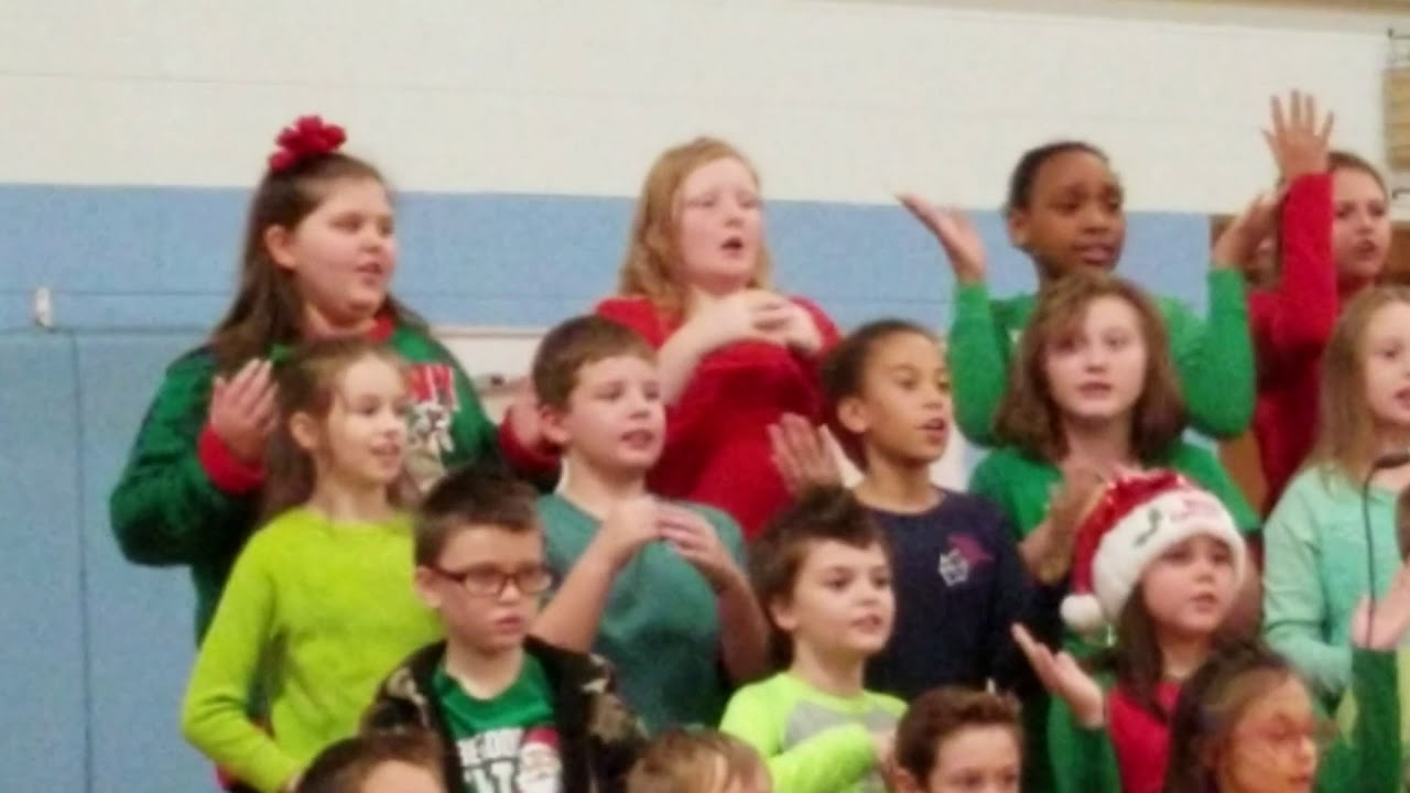 Izzy hip-hop Christmas song - YouTube