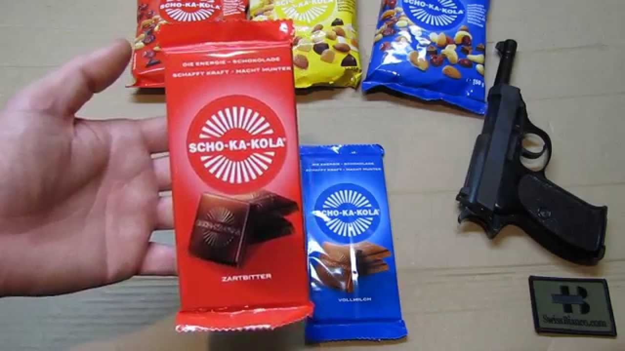 Panzerschokolade was ist Panzerschokolade