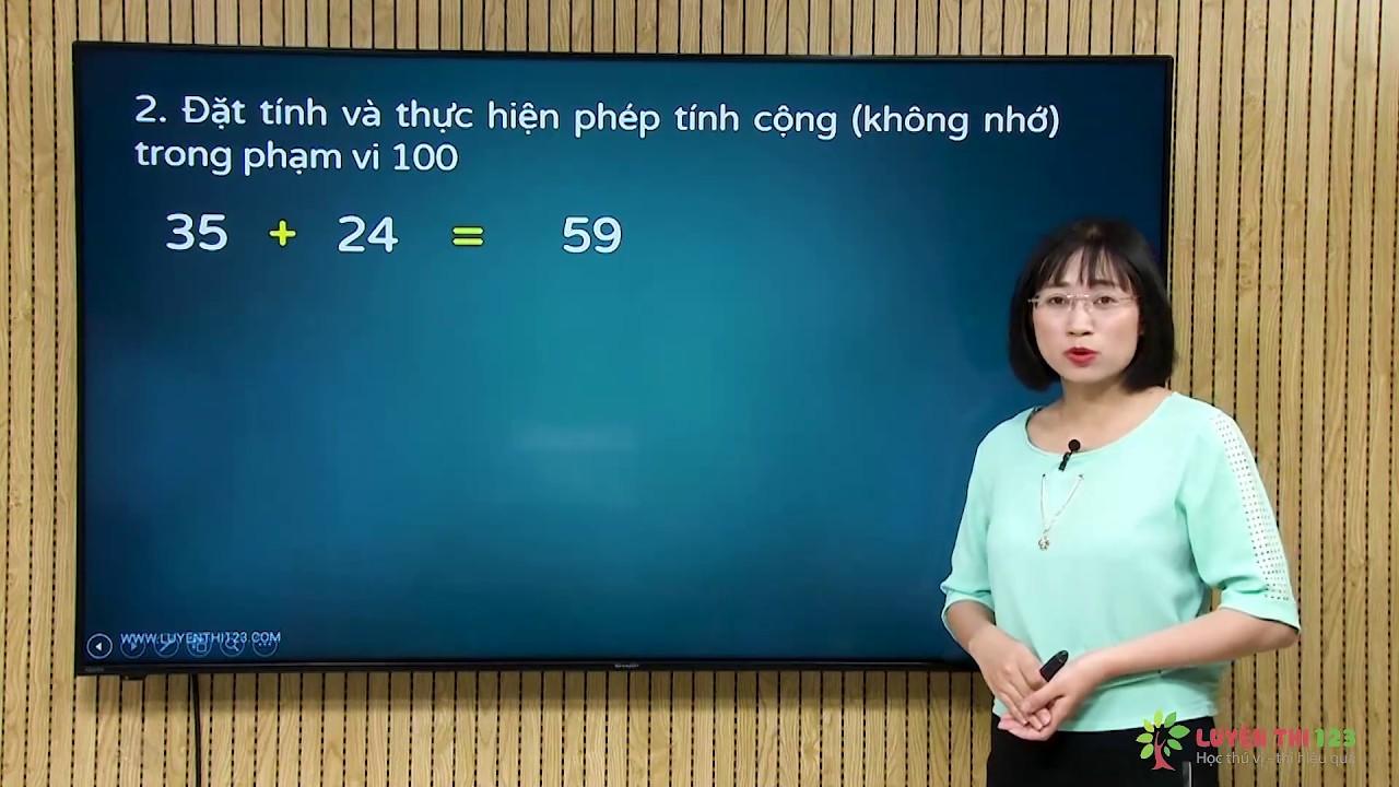 Toán lớp 2 Bài 2: Số hạng - tổng