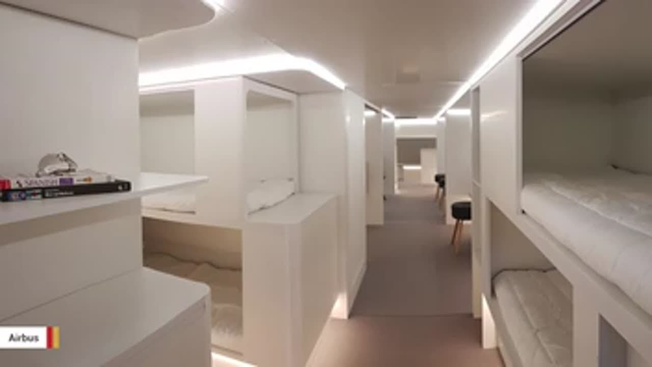 airbus-wants-to-create-sleeping-modules-for-air-passengers-in-cargo-hold