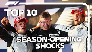 Top 10 Shock Opening F1 Races