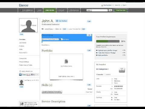 How To Make Money Online - Tutorial - Freelancing Sites - Part 1