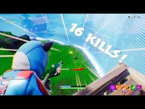 Easy 16 Kill Solo Match Season 7 Fortnite Br Youtube