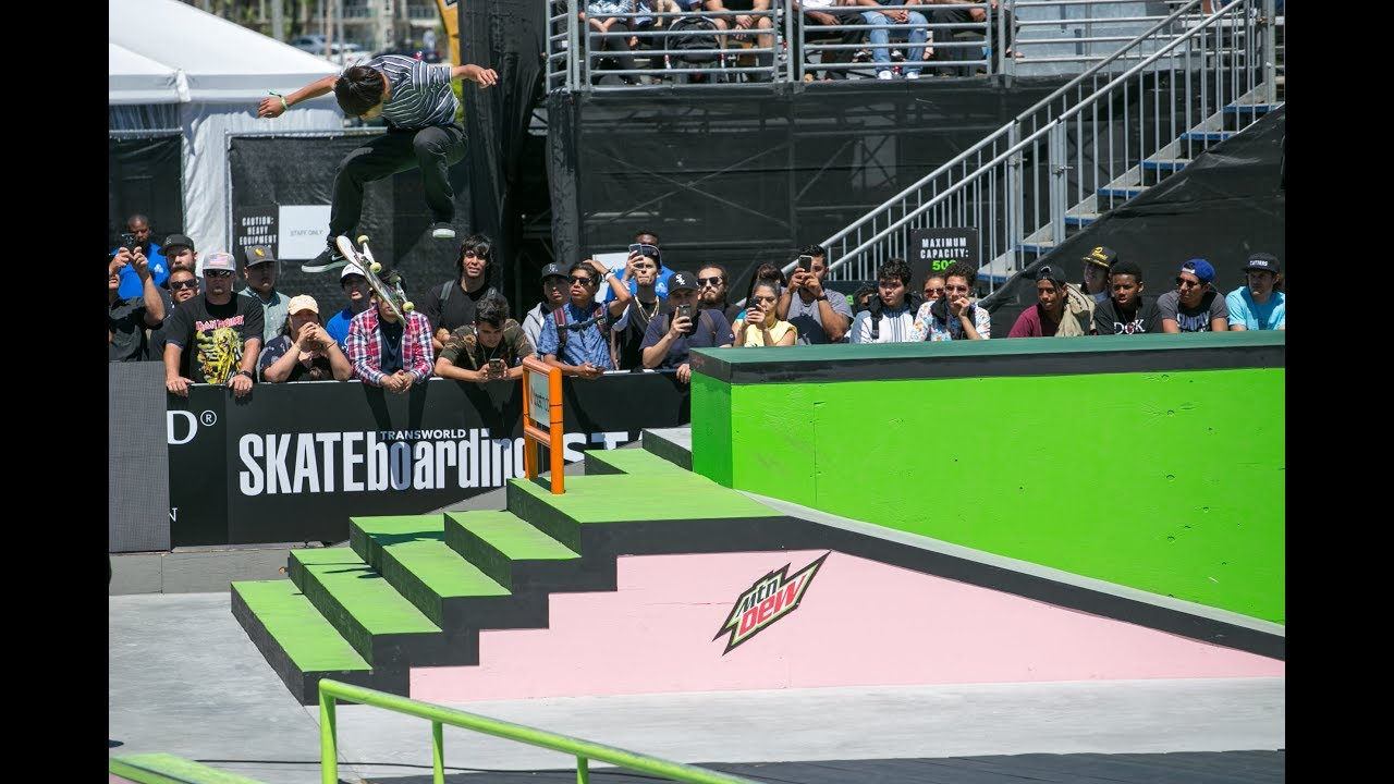 Men's Pro Street Finals Webcast | Dew Tour Long Beach 2018
