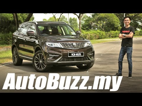 Proton X70 1.8 Turbo Premium 2WD SUV Review - AutoBuzz.my