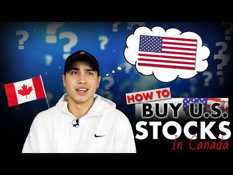 How to buy US stocks in Canada