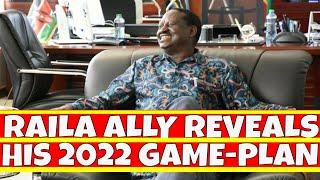 Raila Odinga Top Ally Reveals His Plans for 2022 elections