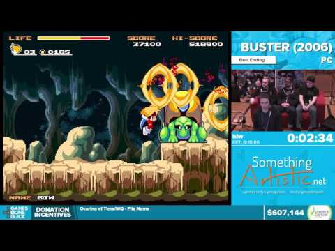 Buster by bjw in 10:20 - Awesome Games Done Quick 2016 - Part 132