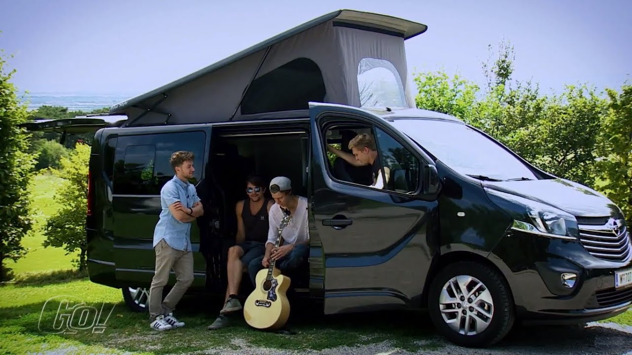 mit flowrag campen opel vivaro camper 2017 der test youtube. Black Bedroom Furniture Sets. Home Design Ideas