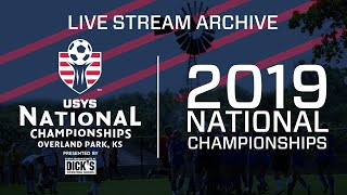 2019 US Youth Soccer - 18U Boys Championship Final - 8am - Field 5