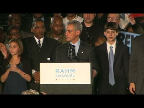 CNN: Rahm Emanuel wins Chicago mayor