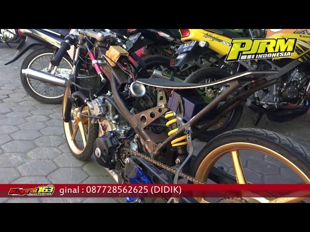 WOW! MXKING Injeksi 200cc Dragbike karya GDT Racing Jogja