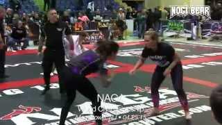 Jen Lopez vs Shaunna Kurtz • NAGA World Championship 04.25.15 • Female No Gi Grappling