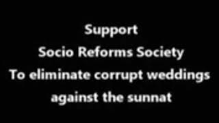 Socio Reforms Society Corrupt Weddings Against The Sunnat