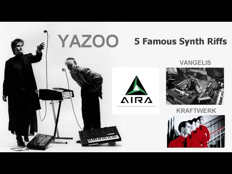 5 Famous Synth Riffs - Roland Synthesizers - Aira - Arturia - Korg