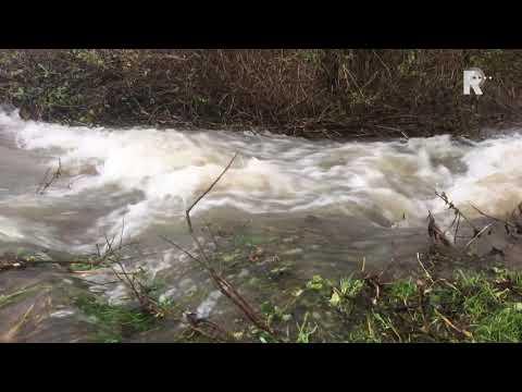 Recreatiegebied Avelingen stroomt vol met water