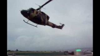 Sri Lanka Air Force - Bell 212 Lands on Merchant Vessel.