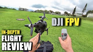 DJI FPV Drone Flight Test Review IN DEPTH + Motion Control & Fly More Kit [How Does It REALLY Work?]